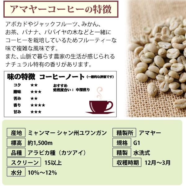 アマヤーコーヒーの特徴
