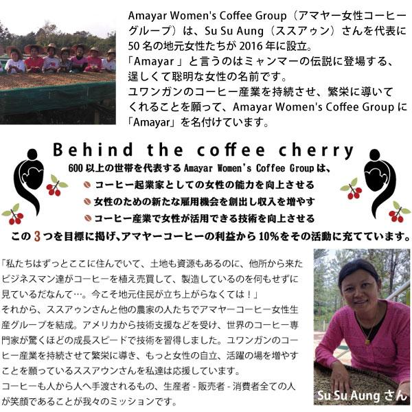 アマヤー女性コーヒー生産グループについて