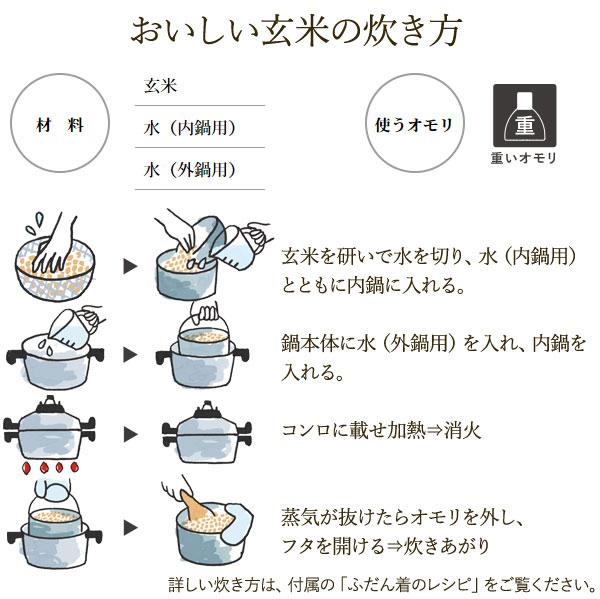 圧力鍋で簡単炊飯