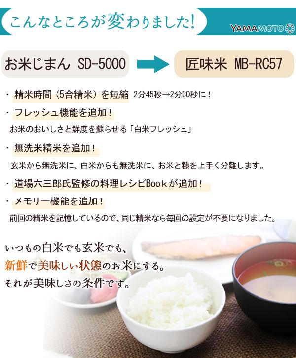 お米じまんから匠味米への進化。こんなところが変わりました!