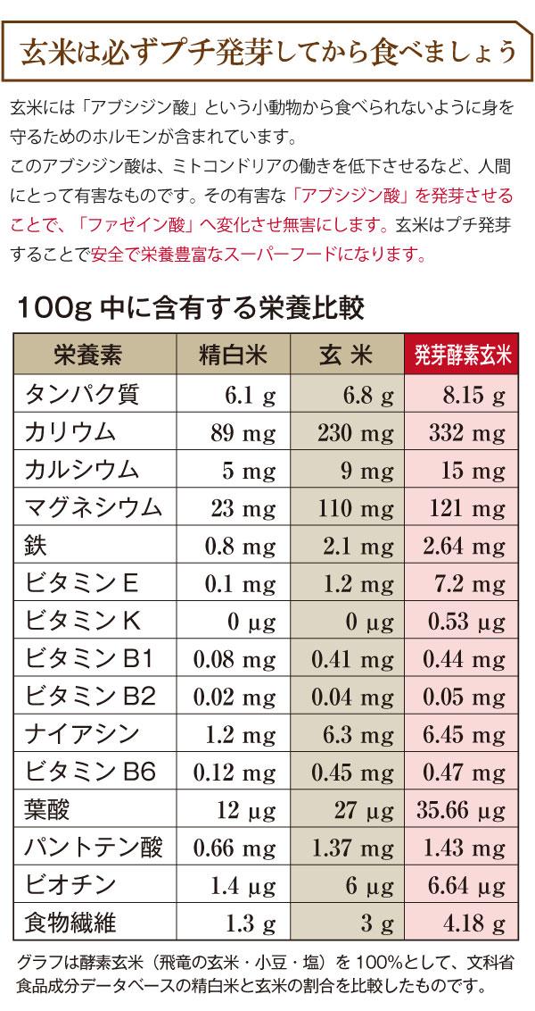 玄米は必ずプチ発芽してから食べましょう