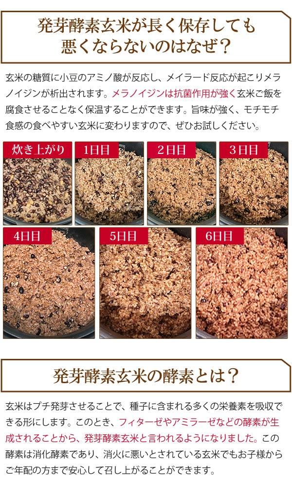 発芽酵素玄米が長く保存しても悪くならないのはなぜ?
