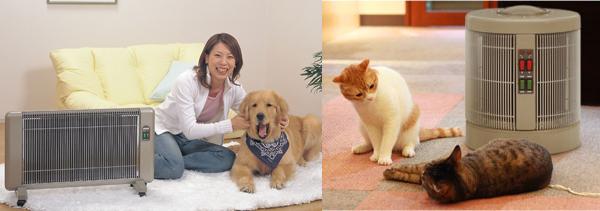 犬や猫などペットにも最適